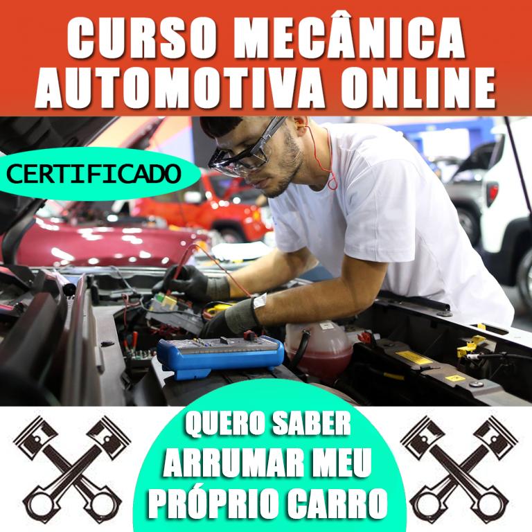 Curso de Mecânica Automotiva Online